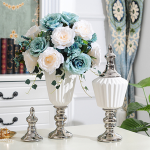 Image 5 - Nordic White Ceramic Storage Figurines Home Decoration Accessories for Living Room Shelves Wedding Centerpieces Ceramic Ornament