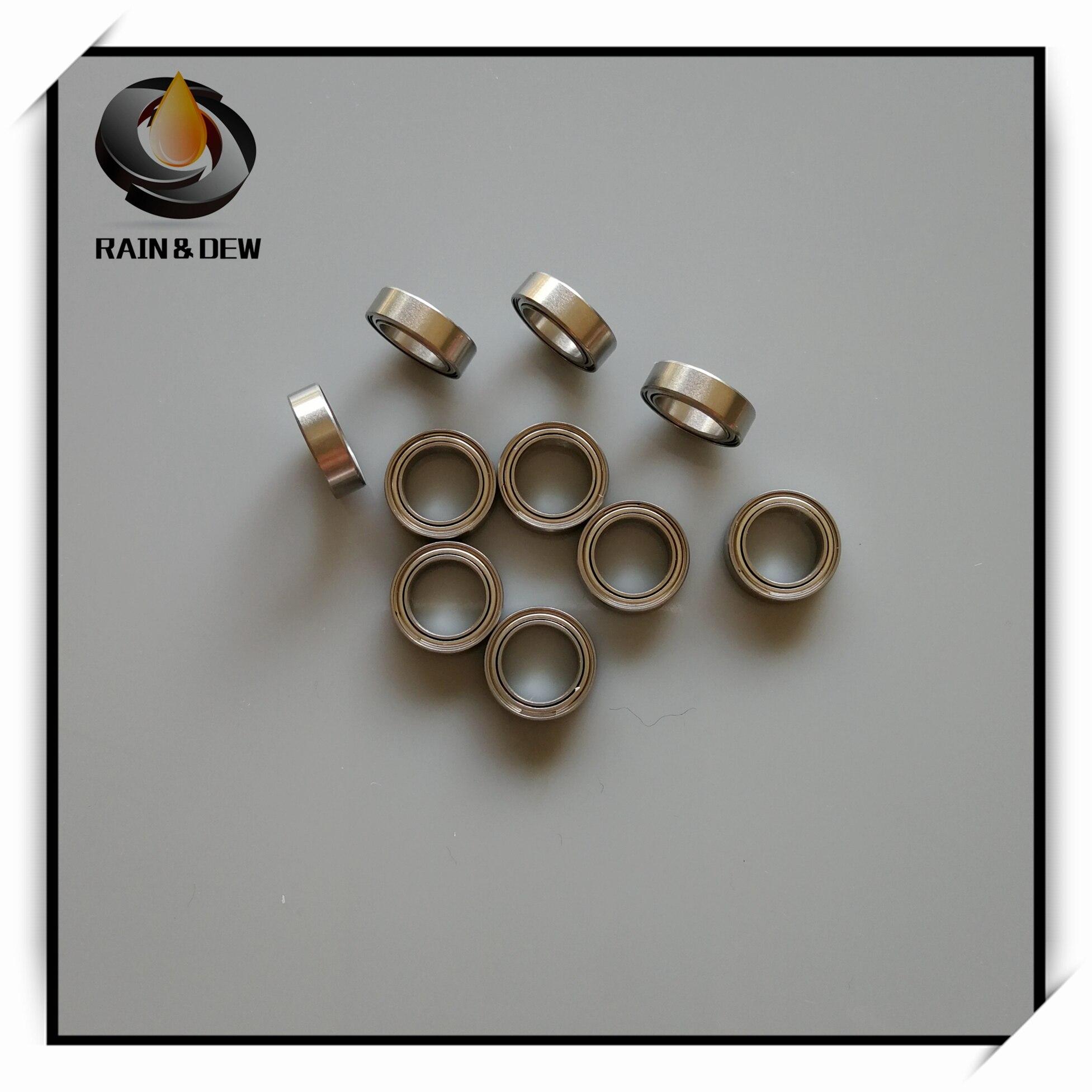 1Pcs  SMR117ZZ CB ABEC7 7X11X3 Mm MR117 Stainless Steel Hybrid Ceramic Ball Bearing