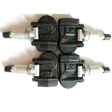 Sensor de presión de neumático para coche, sistema de control de presión de neumático 36106856209 70735510 MHZ 433 10 TPMS para BMW X5 F15 F85 X2 X1 F48 X6 F16 F86, 4 Uds.