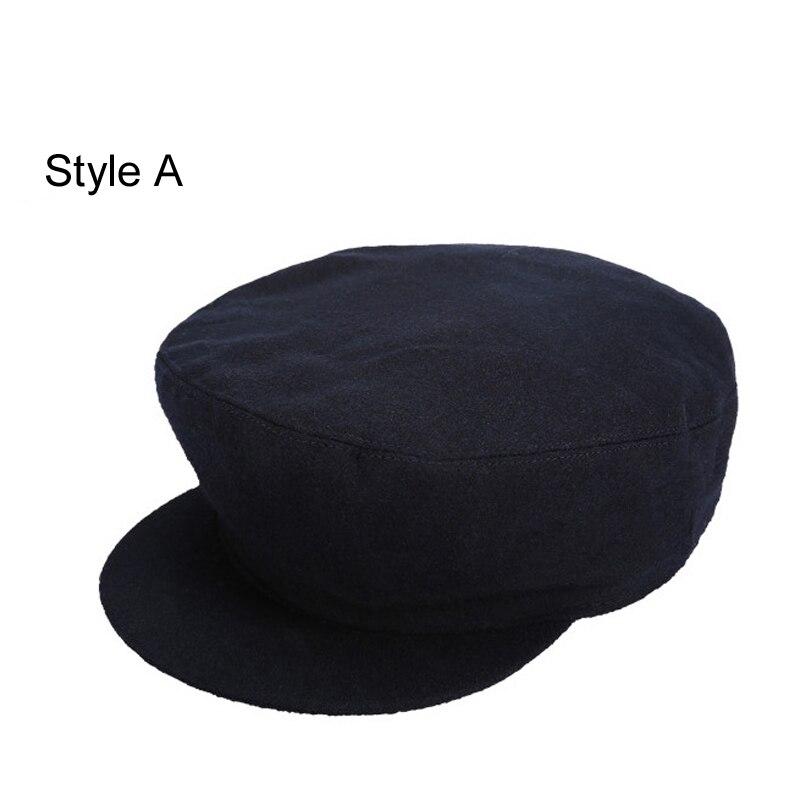 Mens Vintage Art Painter Style Winter Newsboy Beret Visor Octagonal Beanie Cap Hat