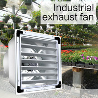 Extractor de aire para invernadero Industrial  3800V  uso comercial  en múltiples ocasiones  resistente al agua y al polvo