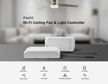 SONOFF IFan03 WIFI Ceiling Fan And Light Controller Smart Home Switch STOCK Dropshipping