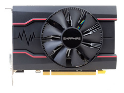 Used,Sapphire  RX550 2GB  DDR5 Graphics Cards PC Desktop Computer Game card PCI-E X16