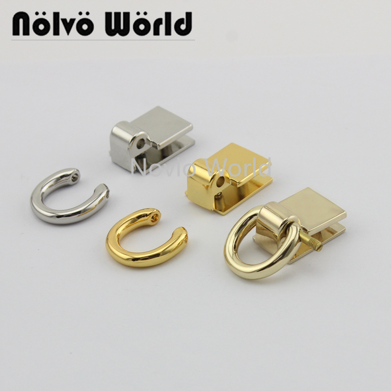 4 Pieces Test, Small Quantity Metal Bag Buckle Dog Collar Buckle Chain Clasp Lobster Swivel Snap Hook Buckle Accessories