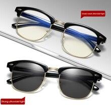 New Photochromic Filter Computer Glasses For Blocking UV Anti Blue Ligh