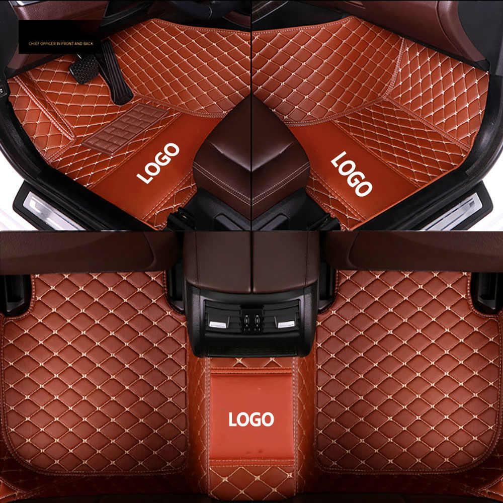 Автомобильные коврики kalaisike с логотипом под заказ для Lexus, все модели ES IS-C IS LS RX NX GS CT GX LX570 RX350 LX RC RX300 LX470, автостайлинг