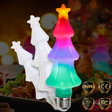 E27 LED Flame Effect Light Bulb E26 Lamp 220V Fire Flickering Emulation RGB Decoration Christmas Trees Lights