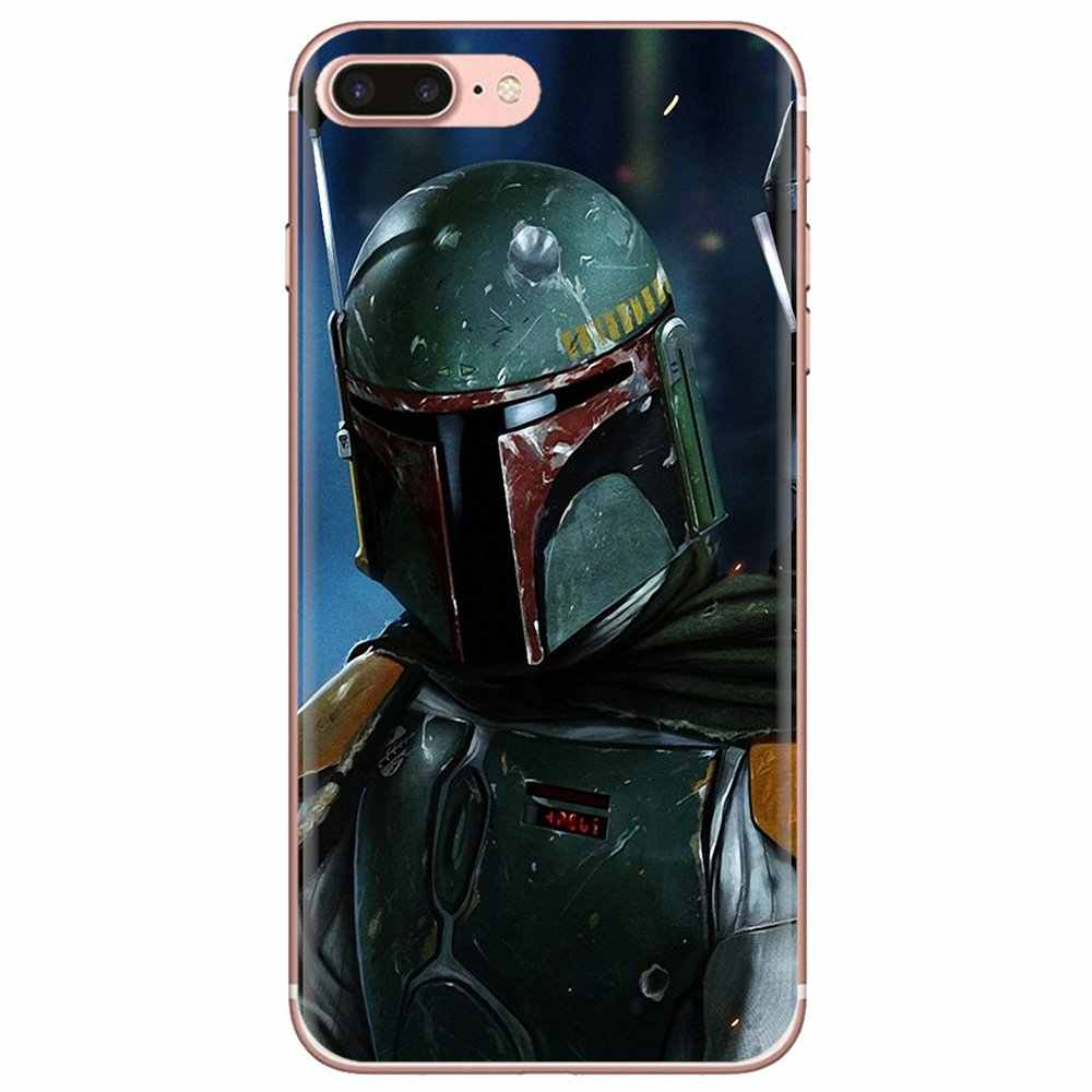 Silicone Phone Shell Cover Boba Fett render For iPhone 11 Pro 4 4S 5 5S SE 5C 6 6S 7 8 X XR XS Plus Max For iPod Touch