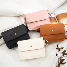 Bag women 2020 spring new Korean version of the small square bag shoulder messenger bag fashion wild handbag mini bag ins world brand small bags new fashion korean version of the small square bag lock buckle handbag simple wild shoulder messenger bag