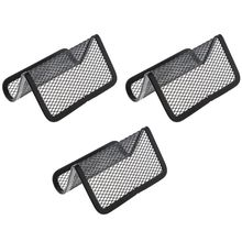 Metal Mesh Business Card Holder Stand for Desk Office Holders Collection Organizer