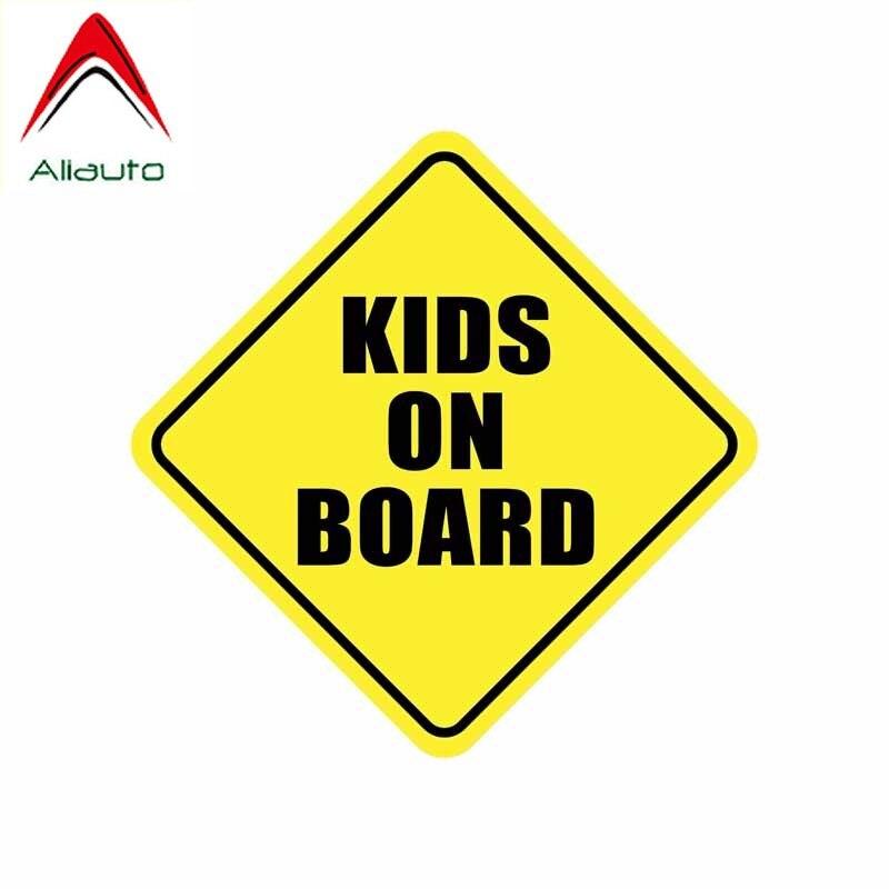Aliauto Предупреждение ющая Автомобильная наклейка, Детская на доске, покрытие, царапины, водонепроницаемые Аксессуары для автомобилей и мото...