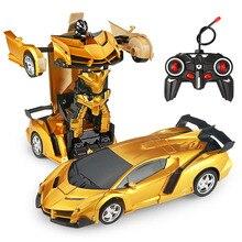 24 Styles RC Car Transformation Robots Sports Vehicle Model
