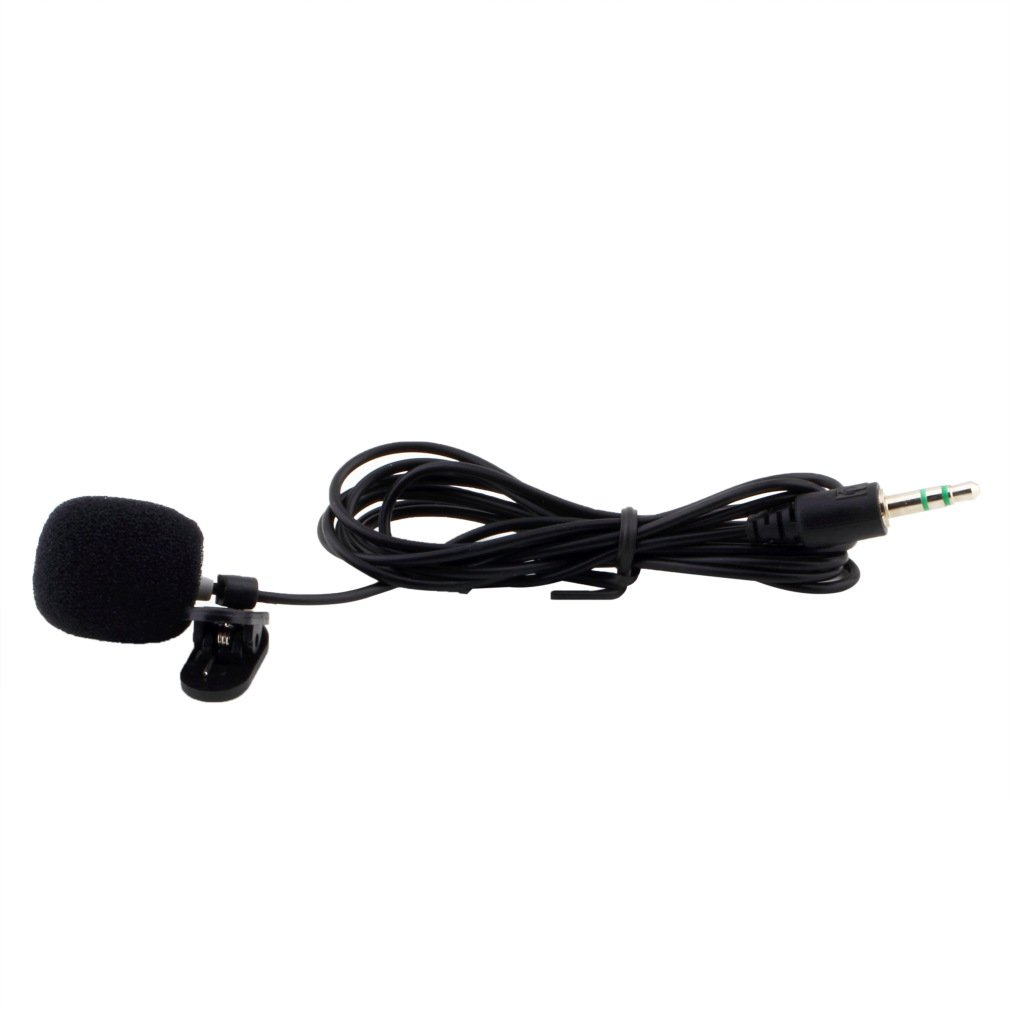 Portable Mini 3.5mm Microphone Hands-Free Wired Collar Clip Lapel Lavalier Microfone For Lectures Teaching Loud Speaker