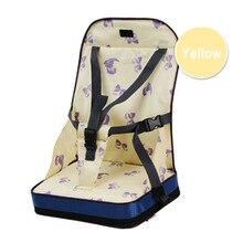 Обеденный ремень безопасности путешествия Ланч складной ткань Оксфорд жгут портативный сиденье для кормления детское кресло сумка домашний моющийся младенец