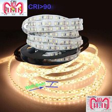 3Years Guarantee  High CRI 90 2835 12V 24V 2835 White LED Light Strips CCT For Home 8mm Width  120LED/m  5m No Waterproof
