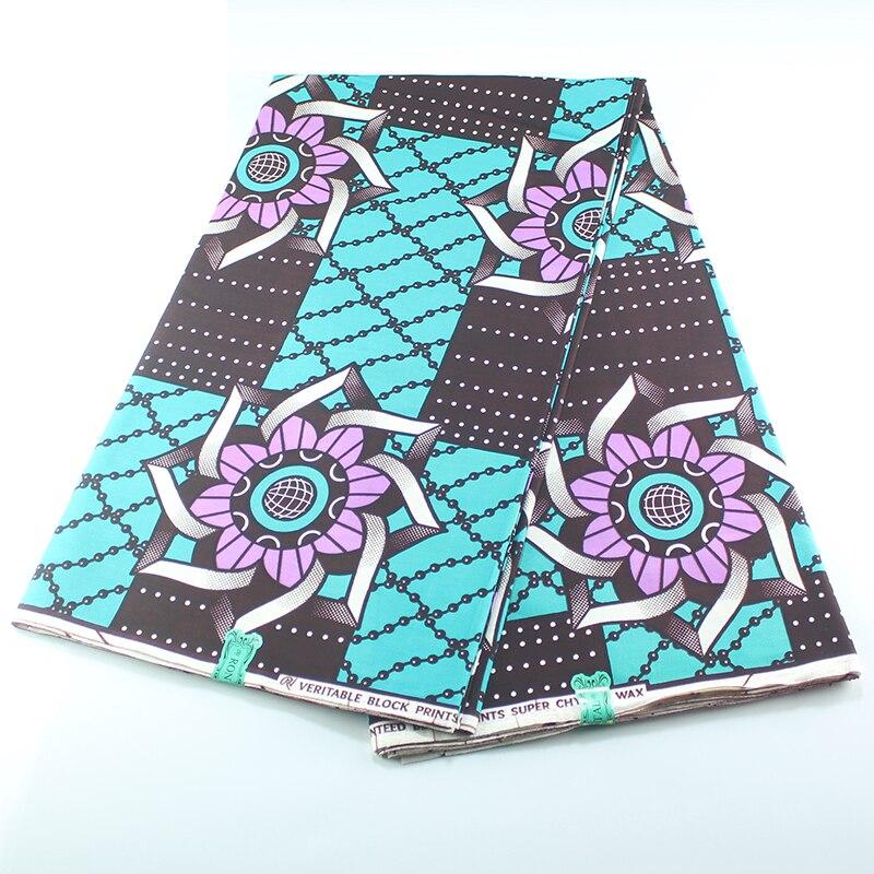 Nederlands African Fabric Ankara High Quality Pagne Wax African Wax Print Fabric Kwanzaa Wax