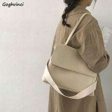Cartelle da donna borse da donna retrò tasca con cerniera interna di grande capacità Casual semplice Trendy borse a tracolla giornaliere in stile coreano