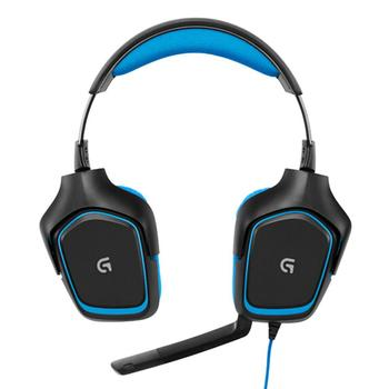 Logitech G430 Gaming Headphones 2.3m USB Wired 7.1 Surround Adjustable Noise-Cancelling Headset Earphone for PC Computer Gamer
