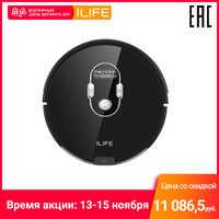 Robot aspirateur ILIFE A7 contrôle par WiFi (150 min pour une charge, 76mm)