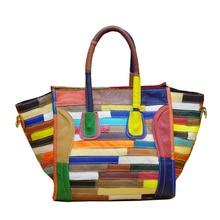 Fashion Women Handbags Genuine Leather Totes Bags Casual Dimensional Personality Handbag Designer Brand Shoulder