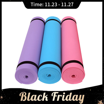 173*61cm EVA Yoga Mat Tasteless fitness mats 6MM Thick Non-slip Fitness Pad Sports pads For Yoga Exercise Pilates Gym Exercise fashion printed suede tpe anti slip gym fitness exercise pilates yoga mat pad yoga mat beginner fitness mat non slip tasteless