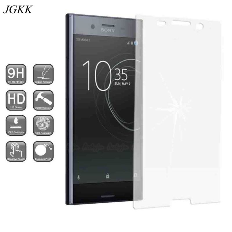 For Sony XA2 10 Plus Matte Tempered Glass No Fingerprint For Sony Xperia L3 XZ3 XZ4 Screen Protector Transparent Protective Film