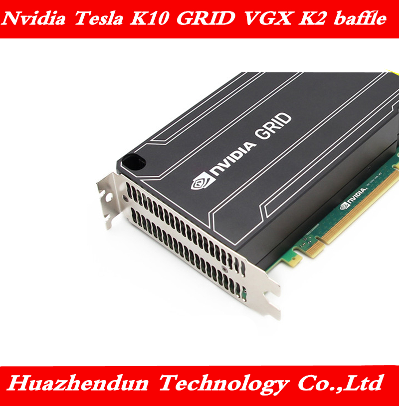 Original Nvidia Tesla K10 GRID VGX K2 K1 GPU Bracket K2 K1 K10 Baffle