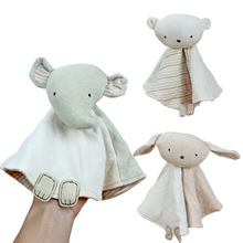 Doll Towel Bunny for Newborn Soft Comforting-Towel Sleeping-Toy Gift Toys Appease Plush
