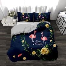Комплект постельного белья 3D облицовочное покрытие для дизайна наборы Король Королева двойной размер дропшиппинг подарок для детей Единорог