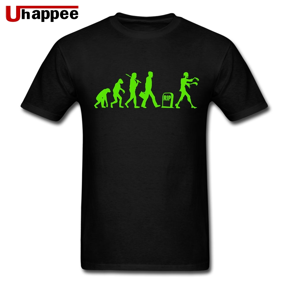 Evo Zombies Funny Novelty T-Shirt Mens tee TShirt