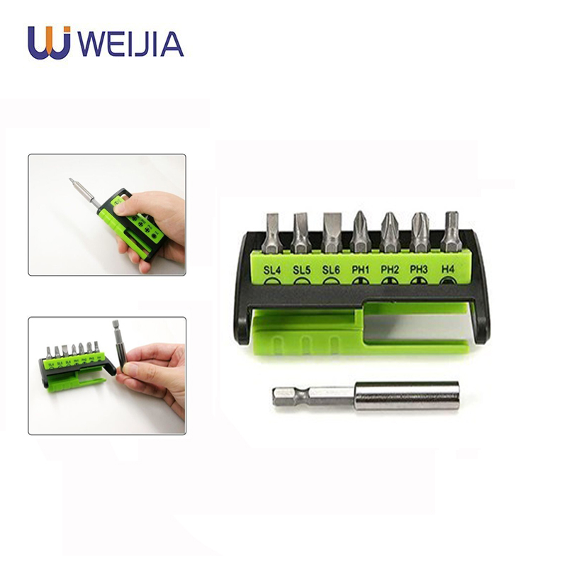 Screwdriver Set 8 In 1 Hand Tools And Electric Screwdriver Bits With Slotted Phillips Hex Repair Tool Set For Iphone Pc Home Diy