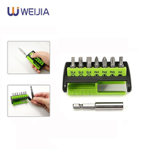 цена на Screwdriver Set 8 in 1 Hand tools and Electric Screwdriver Bits with Slotted Phillips Hex Repair Tool Set For Iphone Pc Home Diy