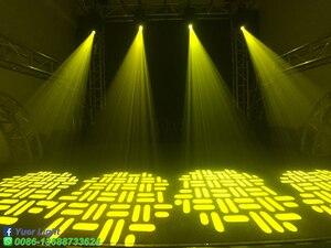 Image 5 - 2 قطعة/الوحدة 260 واط LED بقعة شعاع غسل 3IN1 تتحرك رئيس ضوء 2 الوجه المنشور دوران ستة المنشور LED تتحرك رئيس DJ ديسكو المرحلة ضوء