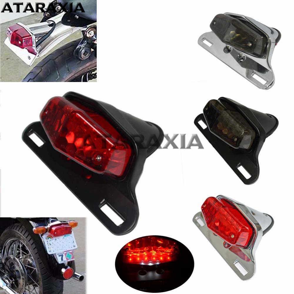Bikeit Motorcycle//Motorbike Universal Lucas Complete Unit Rear Light 12V21W