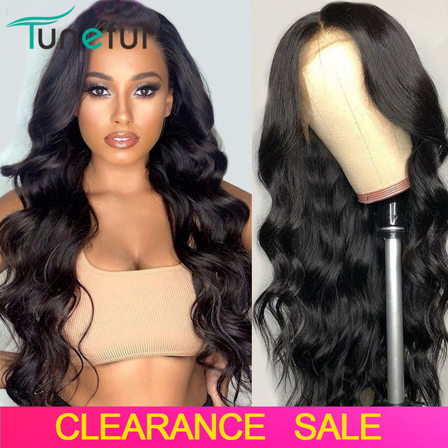 $ US $49.00 13x4 13x6 Body Wave Lace Front Human Hair Wigs Pre Plucked Natural Black 150% 180% Brazilian Remy Lace Frontal Wigs For Women
