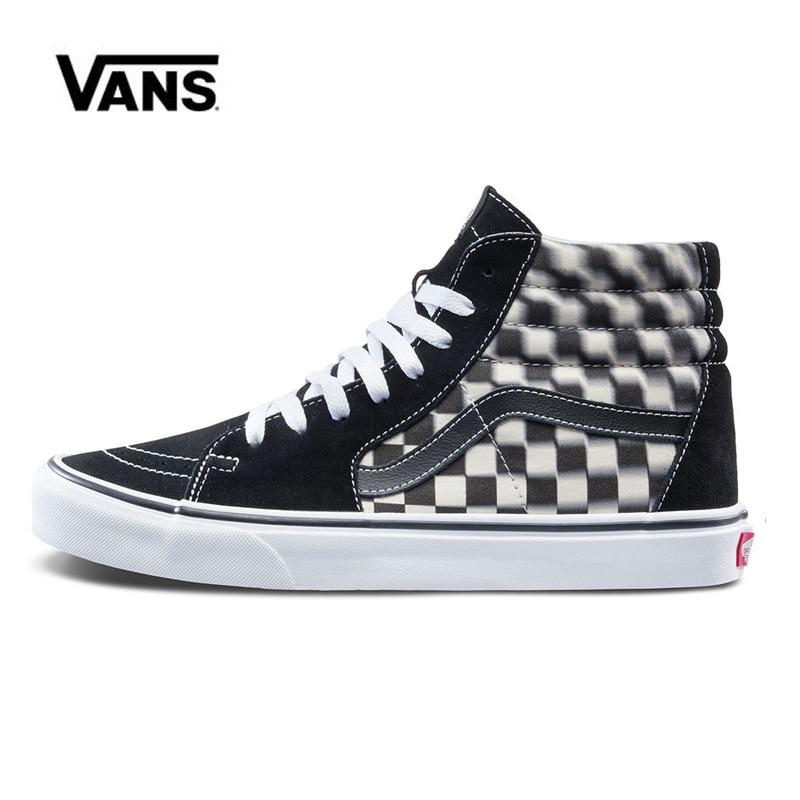 High Classic Sneakers Vans Sk8 Hi Man Shoes Women Unisex Original Skateboarding Vans Shoes VN0A38GEVJM
