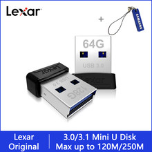 Lexar salto drive 128 gb S47 memoria usb 3,0 USB 3,1 flash pendrive usb stick 64gb chiavetta usb-c 32gb mini flashdisk usb de la pluma