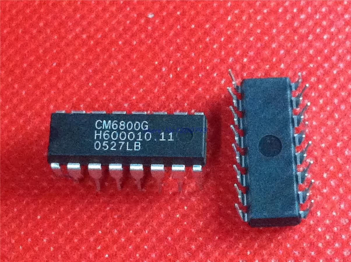 10pcs/lot CM6800G CM6800 DIP16. In Stock