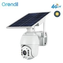 Orendil-cámara domo OSE-03 4G LTE 1080P, 5W, Panel Solar, batería, cámara de seguridad para exteriores, PTZ, cámara IP CCTV, Monitor de seguridad inteligente