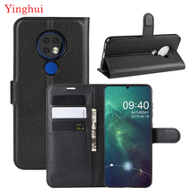 For Nokia 6.2 Case Cover Wallet Leather High Quality Flip Leather Phone Case For Nokia 6.2 Stand Cover For Nokia 6.2 for nokia lumia 830 leather case scrub wallet leather case for nokia lumia 830 with card holder