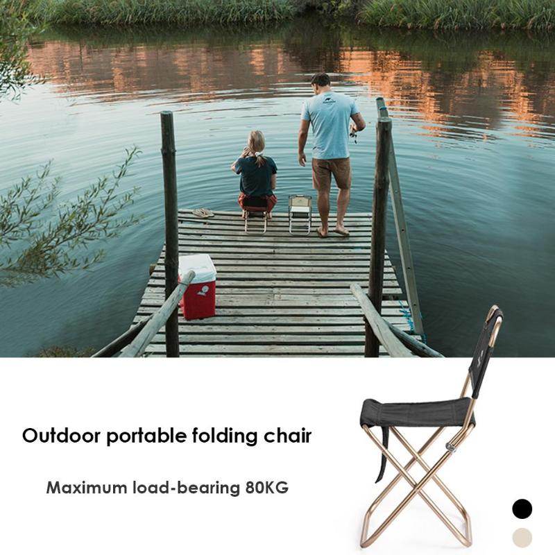 Collapsible Beach Chair Fishing BBQ Stool Camping Outdoor Folding Furniture Outdoor Camping Picnic Foldable Chair