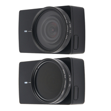 UV CPL عدسة تصفية واقية الألومنيوم الإطار جراب عدسة جراب هاتف شاومي Yi 4K لايت عمل كاميرا عدسة اكسسوارات عالية الجودة