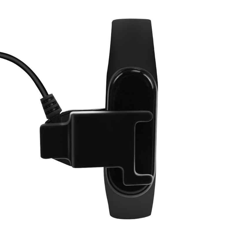 20 centimetri Cavo di Ricarica USB Clip Posteriore del Caricatore Smontaggio-trasporto Adattatore del Caricatore per Xiao mi mi fascia 4/ fascia 4 Braccialetto NFC