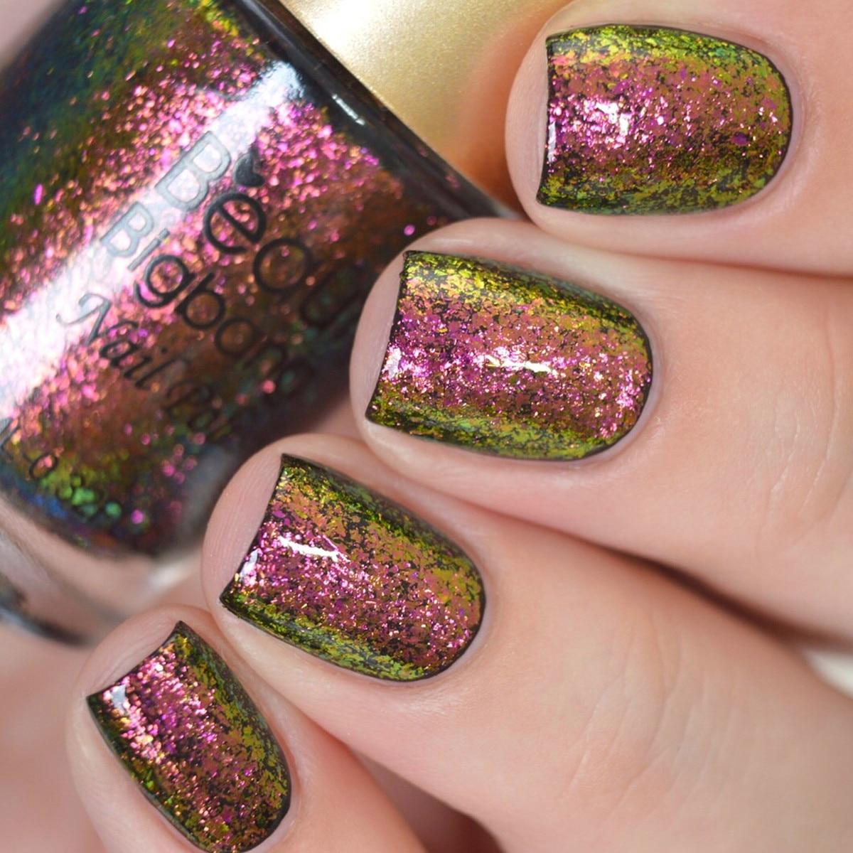 Beautybigbang 9ml camaleão unha polonês galáxia glitter