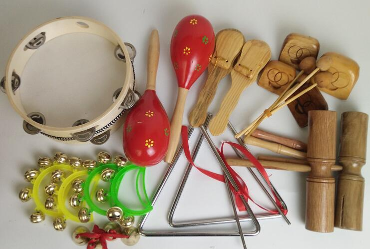 Percussion Instrument Teaching Equipment 18pcs/set