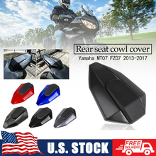 For Yamaha FZ07 MT07 FZ-07 MT-07 2013 2014 2015 2016 2017 Pillion Rear Solo Seat Cover Cowl Motorcycle ABS Seat Cover Fairing US