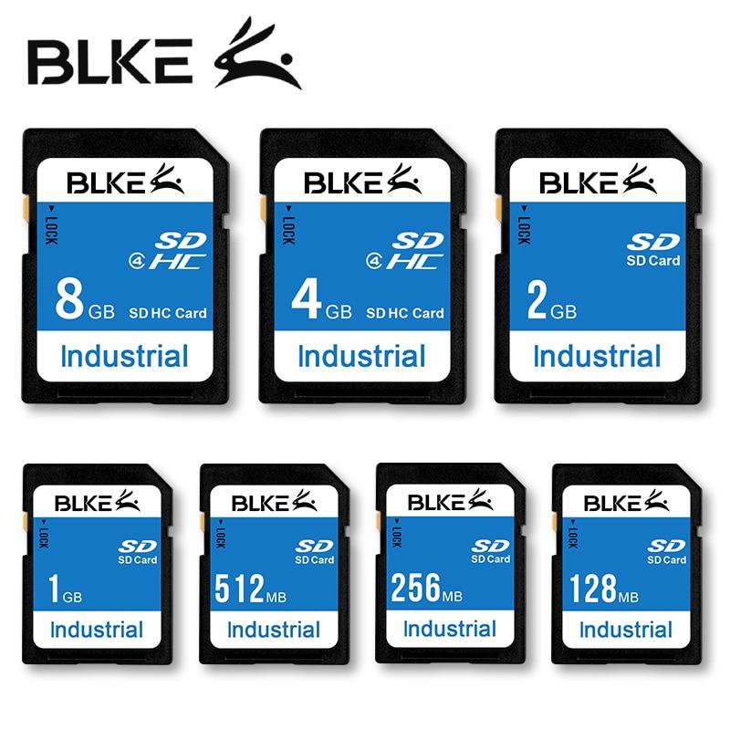 BLKE SD Card 128MB 256MB 512MB 1GB 2GB 4GB 8GB Memory Card For Mitsubishi M80 Advertising Machine  3D Printer CNC Digital Camera