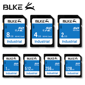 BLKE SD Card 128MB 256MB 512MB 1GB 2GB 4GB 8GB Memory Card For Mitsubishi M80 Advertising Machine  3D Printer CNC Digital Camera