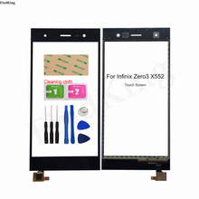 5.5''Mobile Touch Screen Panel Front Glass For Infinix Zero 3 X552 Touch Screen Digitizer Panel Lens Sensor Tools Adhesive