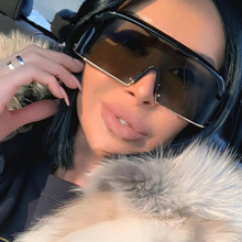 Oversized Frameless Sunglasses Women 2019 High Quality Brand